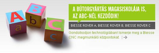 A bútorgyártás magasiskolája is az ABC-nél kezdődik